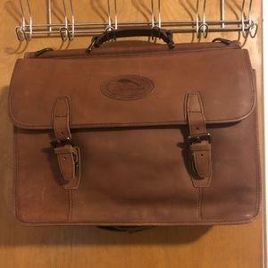 Bob Timberlake Leather Messenger Bag